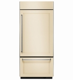 "KBBR206EPA  KitchenAid 20.9 Cu. Ft. 36"" Built-In Bottom-Mount Refrigerator (Right Hinge)  -  Custom Panel"
