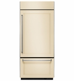 "KBBR306EPA KitchenAid 20.9 Cu. Ft. 36""  Built-In Bottom-Mount Refrigerator (Right Hinge) - Custom Panel"