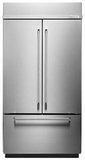 "KBFN402ESS KitchenAid 24.2 Cu. Ft. 42"" Built-In French Door Refrigerator - Stainless Steel"
