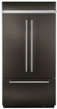 "KBFN502EBS KitchenAid 42"" Width Built-In Stainless French Door Refrigerator with Platinum Interior Design - Black Stainless Steel"