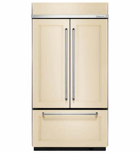 "KBFN502EPA KitchenAid  24.2 Cu. Ft. 42""  Built-In French Door Refrigerator - Custom Panel"