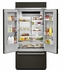 "KBFN506EPA KitchenAid 20.8 Cu. Ft. 36"" French Door Refrigerator with Preserva Food Care System and LED Lighting  - Custom Panel"