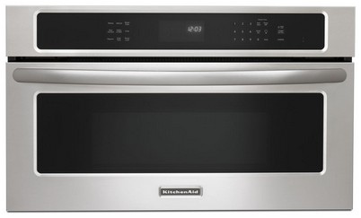 """KBHS179BSS KitchenAid Architect 27"""" 1.4 Cf 900w Built-in Microwave - Stainless Steel"""