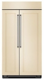 "KBSN608EPA KitchenAid 30.0 Cu. Ft 48"" Width Built-In Side by Side Refrigerator - Custom Panel"