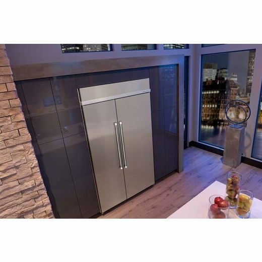 "Kitchenaid Refrigerator Side By Side kitchenaid 30.0 cu. ft 48"" width built-in sideside"