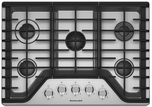 Charmant KCGS356ESS KitchenAid 36u0027u0027 5 Burner Gas Cooktop With Simmer Burner    Stainless Steel