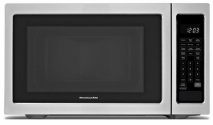 Kcms1655bss Kitchenaid Architect 1 6 Cu Ft Countertop Microwave Stainless Steel