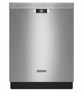 KDHE404DSS KitchenAid 24'' 6-Cycle/6-Option Dishwasher, Ultra Handle with ProScrub - Stainless Steel