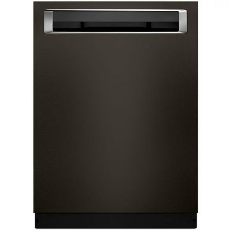 """KDPE234GBS KitchenAid 24"""" Built-In Dishwasher with Third Level Rack and Heat Dry Option - Black Stainless Steel"""