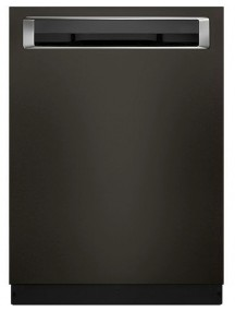 "KDPE334GBS KitchenAid 24"" Dishwasher with Fan-Enabled ProDry System and PrintShield Finish - Black Stainless Steel"