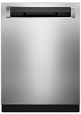 "KDPE334GPS KitchenAid 24"" Dishwasher with Fan-Enabled ProDry System and SaniRinse Option - PrintShield Stainless Steel"