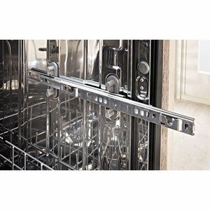 "KDTE234GBL KitchenAid 24"" Built-In Dishwasher with Third Level Rack and Heat Dry Option - Black"