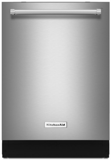 """KDTE234GPS KitchenAid 24"""" Built-In Tall Tub Dishwasher with Third Level Rack and ProWash Cycle - PrintShield Stainless Steel"""