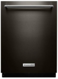 "KDTE334GBS KitchenAid 24"" Dishwasher with Fan-Enabled ProDry System and PrintShield Finish - BlackStainless Steel"