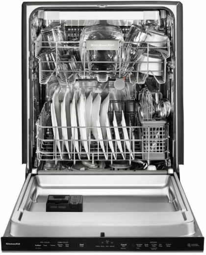 "KDTE334GPS KitchenAid 24"" Dishwasher with Fan-Enabled ProDry System and PrintShield Finish - PrintShield Stainless Steel"