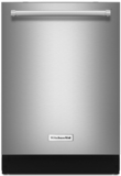 "KDTE334GPS KitchenAid 24"" Dishwasher with Fan-Enabled ProDry System and PrintShield Finish - Stainless Steel"