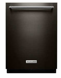 "KDTM354EBS 24"" KitchenAid 44 dBa Dishwasher with Clean Water Wash System and Top Controls - Black Stainless Steel"