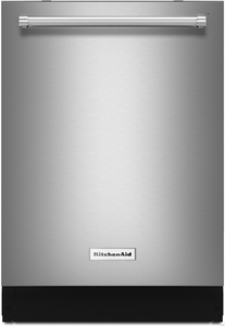 """KDTM704ESS KitchenAid 44 dBA 24"""" Dishwasher with Dynamic Wash Arms & Clean Water System - Stainless Steel"""