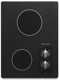 "KECC056RBL KitchenAid Architect 15"" Electric Cooktop - Black"