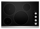 "KECC604BSS KitchenAid Architect 30"" Electric Cooktop - Stainless Steel"
