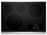 "KECC607BSS KitchenAid Architect 30"" Electric Cooktop - Stainless Steel"