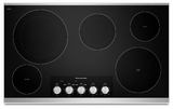"KECC664BSS KitchenAid Architect 36"" Electric Cooktop - Stainless Steel"
