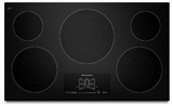 "KECC667BBL KitchenAid Architect 36"" Electric Cooktop - Black"