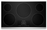 "KECC667BSS KitchenAid Architect 36"" Electric Cooktop - Stainless Steel"