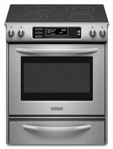 KESS907SSS KitchenAid Architect Self Clean Convection Range - Stainless Steel
