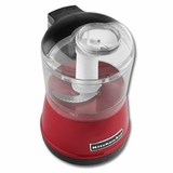 KFC3511ER KitchenAid 3 1/2 Cup Food Chopper With One Touch Operation - Empire Red