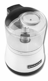 KFC3511WH KitchenAid 3 1/2 Cup Food Chopper With One Touch Operation - White