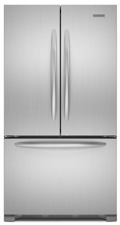 Kfcs22evms kitchenaid architect 36 french door counter depth refrigerator monochromatic stainless - Kitchenaid architect counter depth refrigerator ...