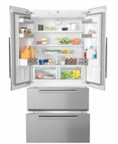"KFNF9955IDE 36"" Miele PerfectCool Series Built-In French Door Refrigerator with Gallon Door Storage and Spillproof Glass Technology - Custom Panel"