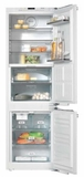 "KFNS37692IDE1 Miele 22"" PerfectCool Reversible Hinge Built-In Bottom Mount Refrigerator with Perfect Fresh Pro and DynaCool- Custom Panel"