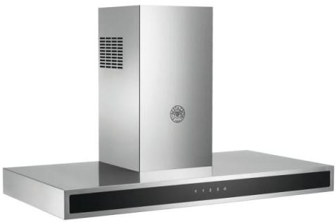 "KG30CONX Bertazzoni 30"" Professional Series Wallmount Hood with 600 CFM and 2 Halogen Lights - Stainless Steel"