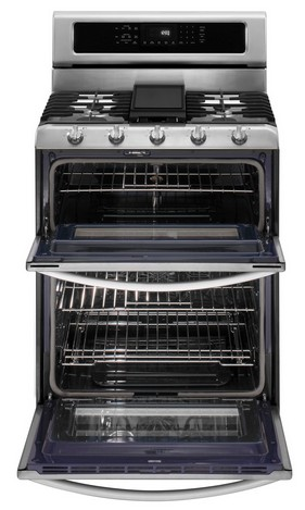 KGRS505XSS KitchenAid Architect Double Oven Convection Gas Range    Stainless Steel