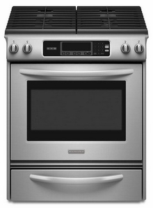 KGSK901SSS KitchenAid Architect Slide-in Self Clean Gas Range - Stainless Steel
