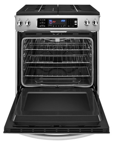 KGSS907SSS KitchenAid Architect Slide In Self Clean Gas Range   Stainless  Steel