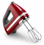 KHM7210ER KitchenAid 7-Speed Contour Hand Mixer - Empire Red