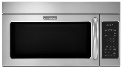 Kitchenaid Above Range Microwave Khms2040bss 2 0 Cu Ft 1000 W Over The