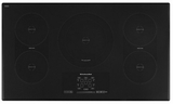 "KICU569XBL KitchenAid  36"" Induction  Cooktop - Black"