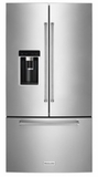 KitchenAid French Door Refrigerators - Stainless Steel