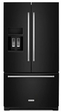 KitchenAid French Door Refrigerators - Black