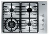"KM3465G Miele 3000 Series 30"" Natural Gas Cooktop with Linear Grates - Stainless Steel"