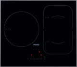 "KM6320 Miele 24"" Touch Control Glass Induction Cooktop 208/240v Compatible - Black"