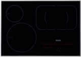 "KM6360 Miele 30"" Touch Control Glass Induction Cooktop 208/240v Compatible - Black"