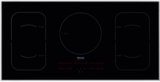 "KM6377 Miele 42"" Touch Control Glass Induction Cooktop with 208/240v Compatible - Black"