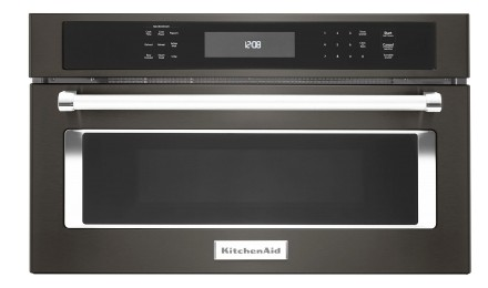 Kmbp107ebs Kitchenaid 27 Built In Microwave Oven With Convection Cooking Black Stainless Steel