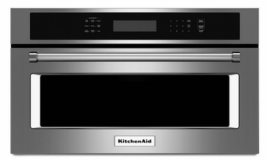 """KMBP107ESS KitchenAid 27"""" Built In Microwave Oven with Convection Cooking - Stainless Steel"""