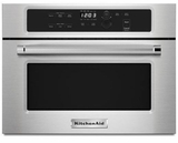 "KMBS104ESS KitchenAid 24"" Built In Microwave Oven with 1000 Watt Cooking - Stainless Steel"